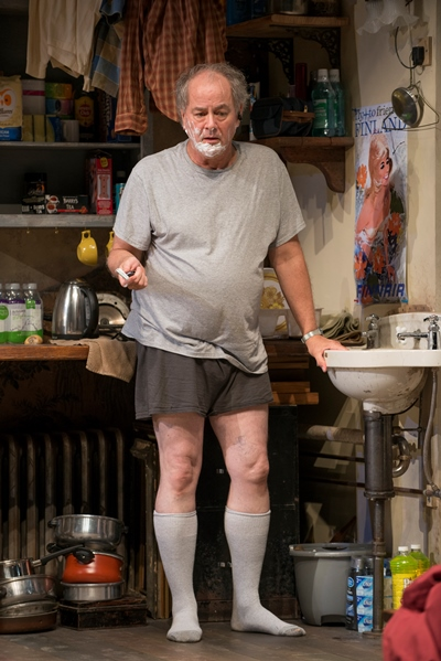 Tommy (Francis Guinan) occupies an apartment that resembles his life. (Michael Brosilow)