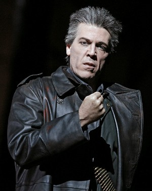 "Thomas Hampson sings the Four Villians in Offenbach's ""Les Contes d'Hoffmann."" (Marty Sohl, Metropolitan Opera)"