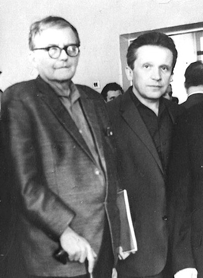 Soviet composers Dmitri Shostakovich and Mieczyslaw Weinberg were close colleagues and friends