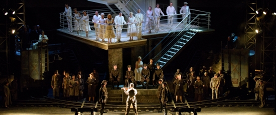 The Passenger, Lyric Opera Chicago 2015 (Robert Kusel)