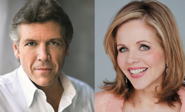 Thomas Hampson and Renée Fleming will headline the Lyric Opera holiday season in 2015.