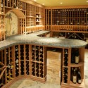 Cellar temperature affects the evolution, or aging, of wine.