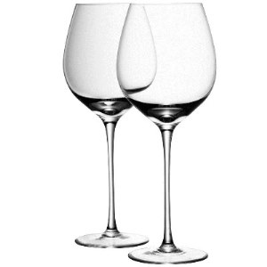 Dish soap, thoroughly rinsed away, puts the sparkle in wine glasses.