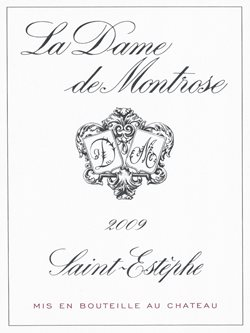 La Dame de Montrose 2009, dominated by Merlot, is atypical of Bordeaux's Left Bank.
