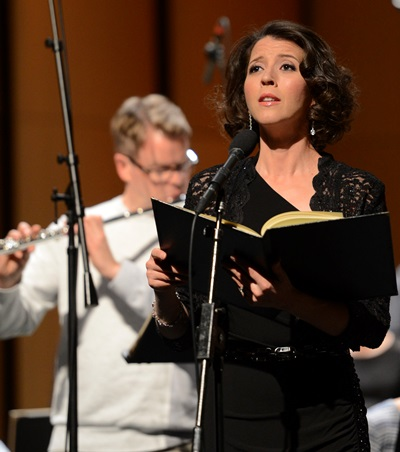 Soprano Lisette Oropesa was among a superb group of soloists. (EElan Photography)