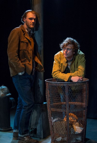Chris Chmelik and Morgan Maher portray café denizens looking for action in 'Balm in Gilead.' (Michael Brosilow)