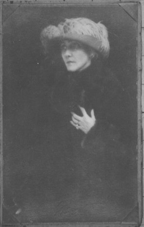Clarissa Norrington in middle age. (Wharton County Historical Museum)