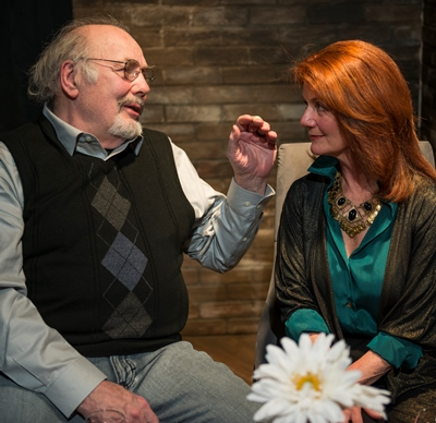 Joel (Robert Breuler) and Sara (Liz Zweifler) live in a marital truce that's often broken. (Michael Brosilow)