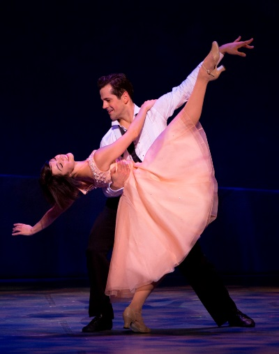 Co-stars Leeanne Cope and Robert Fairchild in a pas de deux. (Angela Sterling)