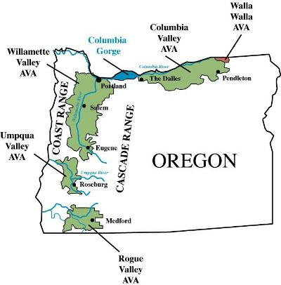 Situated in Oregon's northwest, the Willamette Valley cover 5,200 square miles.