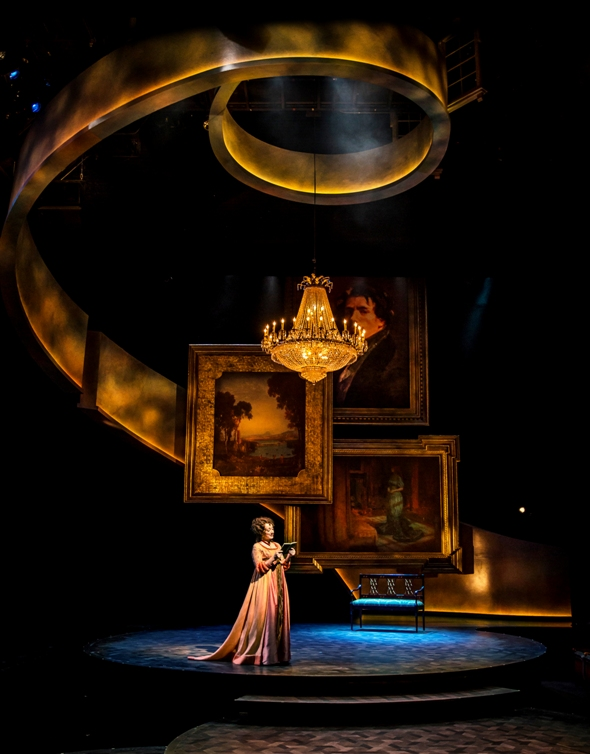'Sense and Sensibility,' set design by Kevin Depinet, directed by Barbara Gaines with book, lyrics and music by Paul Gordon, for Chicago Shakespeare Theater 2015 (Liz Lauren)
