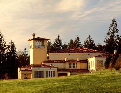 The Domaine Serene winery in Dayton, Ore., Willamette Valley.