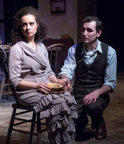 When Seta (Sophia Menendian) can't connect with her husband (Matt Browning), she answers silence with silence. (Dean LaPrairie)