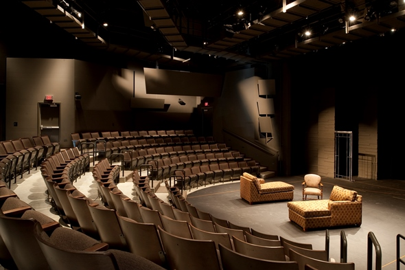 APT's intimate, indoor Touchstone Theatre seats 200. (Courtesy American Players Theatre)