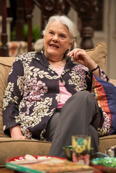 Lois Smith is the straight-talking mother-in-law. (Michael Brosilow)