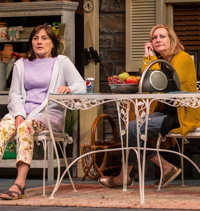 Life is full of angst for Sonia (Janet Ulrich Brooks, left) and full of fans for movie star Masha (Mary Beth Fisher). (Liz Lauren)