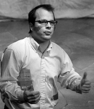 David Caitlin created the stage version of Melville's novel and directed the Lookingglass production.