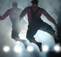 'Direct from Death Row - The Scottsboro Boys' is billed as an evening of vaudeville and sorrow.