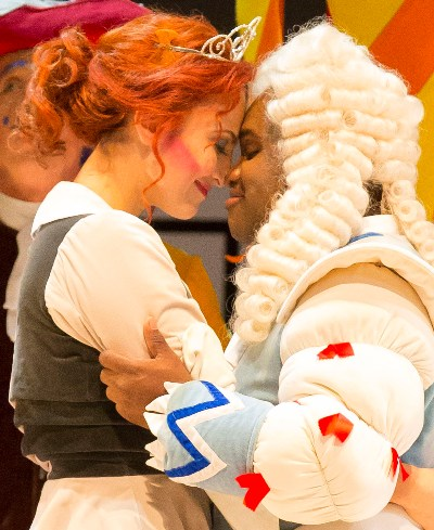 Cinderella (Isabel Leonard) finds her prince (Lawrence Brownlee) in Rossini's 'Cinderella' at the Chicago Lyric Opera. (Todd Rosenberg)