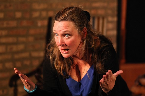 Barbara Figgins stars in Geraldine Aron's one-woman show 'My Brilliant Divorce.'