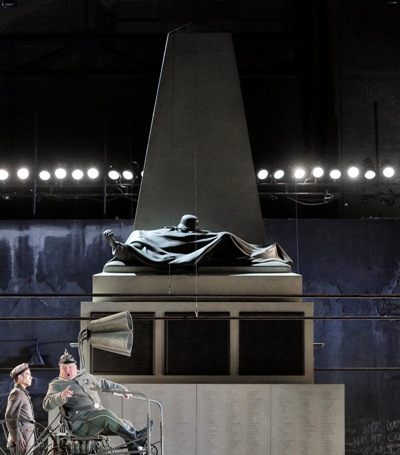 "David McVickar's ""Wozzeck"" is designed by Vicki Mortimer with lighting by Paule Constable."
