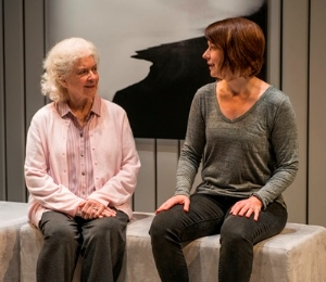 Mary Ann Thebus and Kate Fry play mother and daughter in 'Marjorie Prime.' (Michael Brosilow)