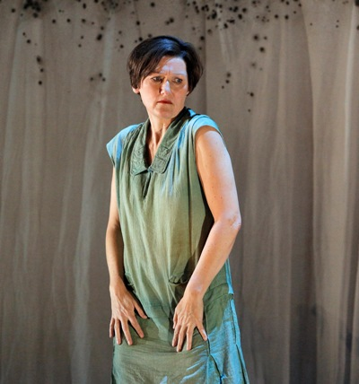 "Poverty makes Marie (Angela Denoke) desperate in ""Wozzeck"" at the Lyric Opera of Chicago. (Cory Weaver)"