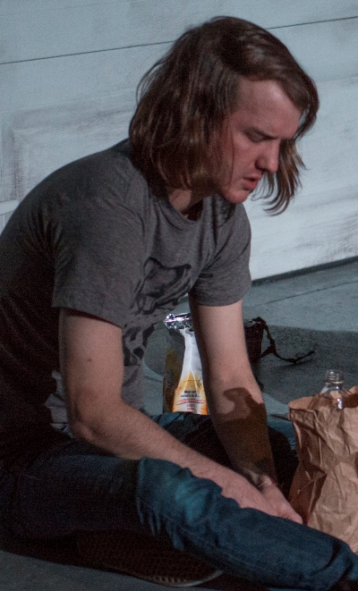 Matt Farabee is the lost and lonely Alec in 'Bruise Easy.' (Michael Brosilow)