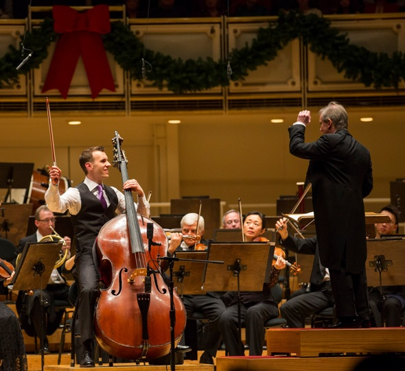 12/17/15 8:35:44 PM -- Chicago Symphony Orchestra 125th Year. Chicago Symphony Orchestra James Conlon Conductor Vanhal Double Bass Concerto in D Major Featuring Principal Bass Alexander Hanna © Todd Rosenberg Photography 2015