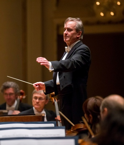 James Conlon conducted two works by Dvořák with the Chicago Symphony. (Todd Rosenberg)
