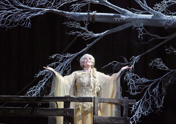 Soprano Sondra Radvanovsky in the Kevin Newbury production of 'Norma'