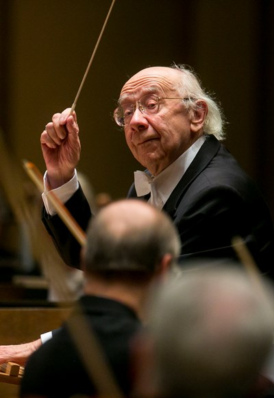 Rozhdestvensky's two weeks with the CSO was like an impromptu festival. (Todd Rosenberg)