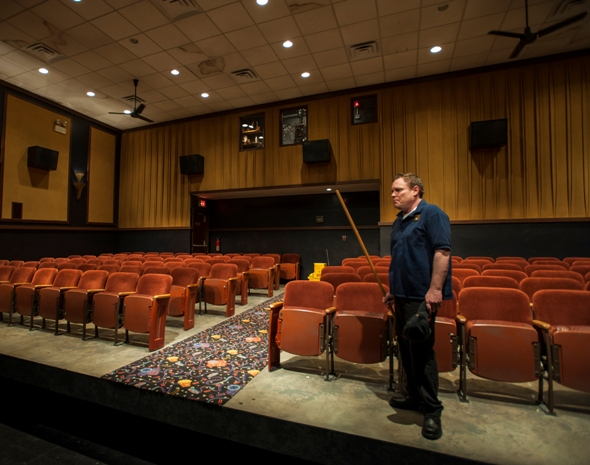 'The Flick,' by Annie Baker at Steppenwolf (Michael Brosilow)