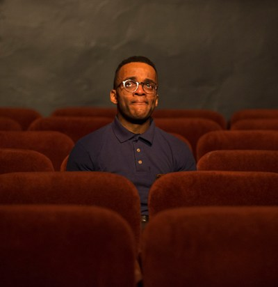 Travis Turner as Avery in 'The Flick' at Steppenwolf. (Michael Brosilow)