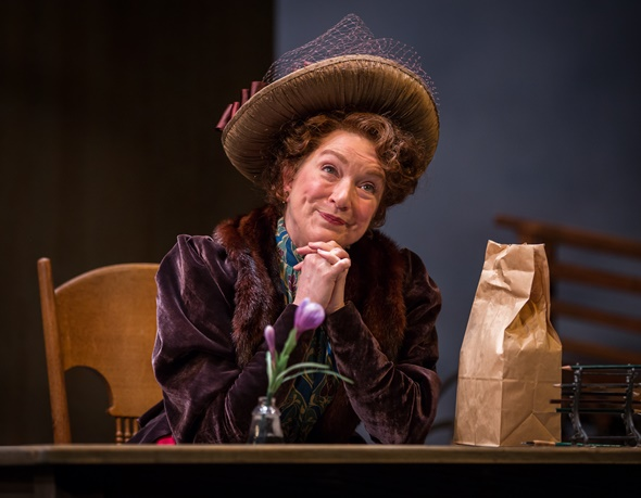 Kristine Nielsen portrays Dolly Gallagher Levi in 'The Matchmaker.' (Liz Lauren)