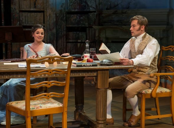 arcadia at writers stoppard s fine spun play proves ideal opener