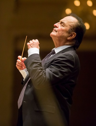 Dutoit has been a frequent guest conductor with the Chicago Symphony Orchestra. (Todd Rosenberg)