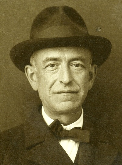 Manuel de Falla, composer of 'The Three-Cornered Hat' and 'Nights in the Gardens of Spain.'