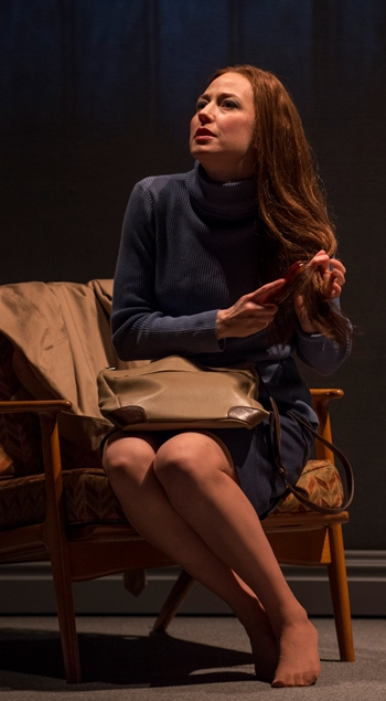 Troubled Mary Page Marlowe (Carrie Coon) offers sex for the satisfaction of feeling noticed. (Michael Brosilow)