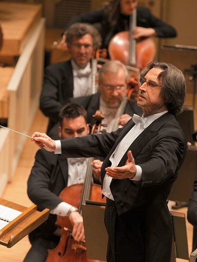 CSO music director Riccardo Muti was a sensitive partner in the Beethoven concerto. (Todd Rosenberg)