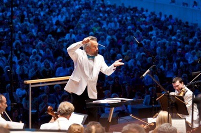 Carlos Kalmar is the festival artistic director and principal conductor. (Patrick Pyszka)