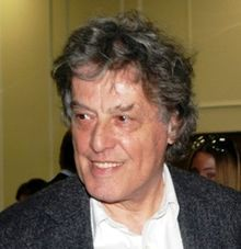 Tom Stoppard, author of 'Arcadia.'