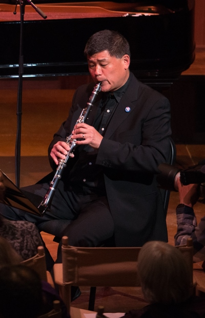 Chicago Symphony clarinet John Bruce Yeh was among a stellar group of musicians at Tippet Rise. (Erik Peterson)