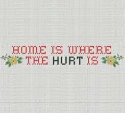 Redtwist Theater 2016-17 Home is where the HURT is logo