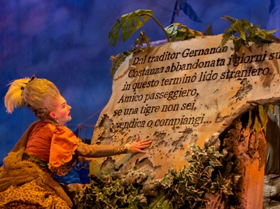 Haymarket Opera presents Haydn's L'isola disabitata at the Atheneum Theatre, dress rehearsal, Thursday, September 15, 2016.