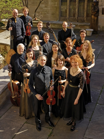 The Baroque ensemble Apollo's Fire with its founding leader Jeannette Sorrell. (Roger Mastroianni)
