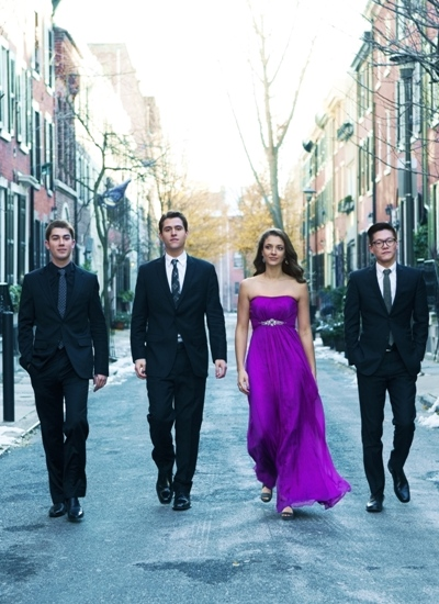 The Dover Quartet appears to be headed for a major career.