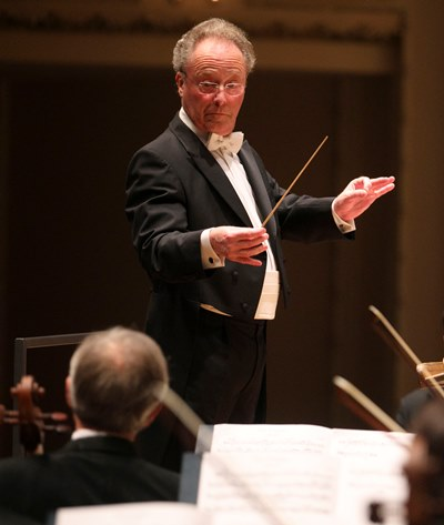 French conductor Emmanuel Krivine is making his CSO debut at age 69. (Todd Rosenberg)