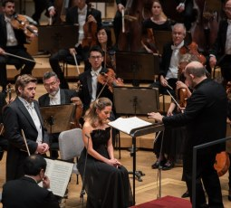 11/10/16 9:17:10 PM   Mozart Masonic Funeral Music Wagner Prelude and Liebestod from Tristan and Isolde Brahms A German Requiem  PERFORMERS  Chicago Symphony Orchestra Jaap van Zweden conductor Christiane Karg soprano Michael Nagy baritone Chicago Symphony Chorus  Duain Wolfe chorus director  © Alex Garcia Photography 2016