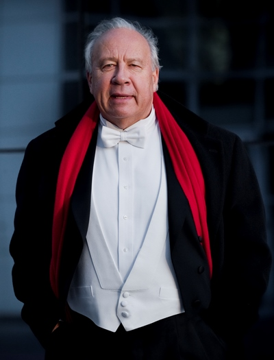 Conductor Neeme Järvi underscored the grandeur of Sibelius' Fifth Symphony. (Simon van Boxtel)